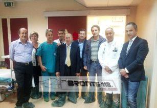 BRONTE: RIAPRE LA SALA OPERATORIA DOPO I CROLLI