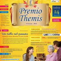 BRONTE: AL VIA LA V EDIZIONE DEL PREMIO LETTERARIO THEMIS