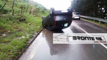 BRONTE-CESARO': INCIDENTE AUTONOMO SULLA SS 120