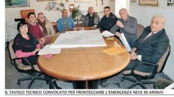 BRONTE: FREDDO E NEVICATE, UN TAVOLO TECNICO PER AFFRONTARE AL MEGLIO L'EMERGENZA