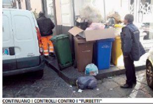 """BRONTE: CONTROLLI A TAPPETO CONTRO I """"FURBETTI"""" DELLA DIFFERENZIATA"""