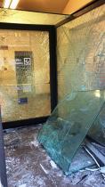 LINGUAGLOSSA: SVENTATO FURTO DI UN BANCOMAT AL CREDITO SICILIANO – LE FOTO