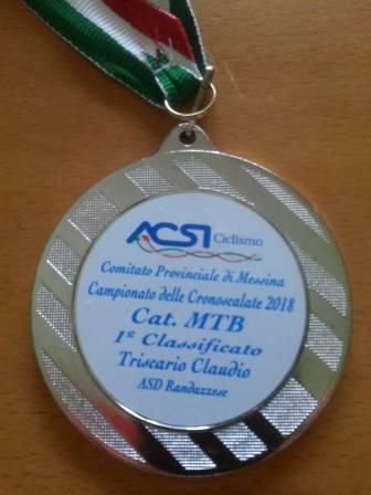 triscari medal