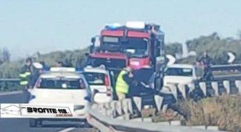 BIANCAVILLA: INCIDENTE AUTONOMO SULLA SS 284, FERITO UN BRONTESE – LE FOTO