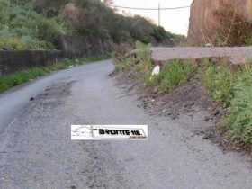 BRONTE: DUE STRADE SI RIMETTONO IN MARCIA