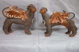Companion spinx pair
