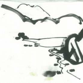Nant Gwynant 23 drawing