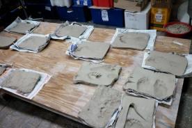 Imprint series drying
