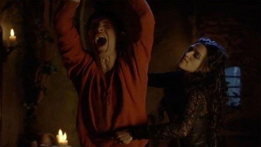 MC - Morgana tortures Merlin