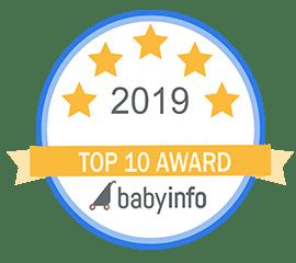 babyinfo top ten award 2019