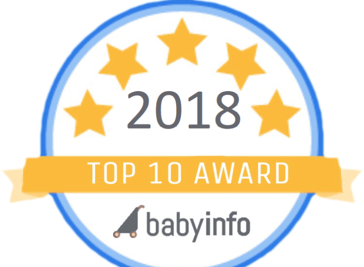 babyinfo top ten award 2018