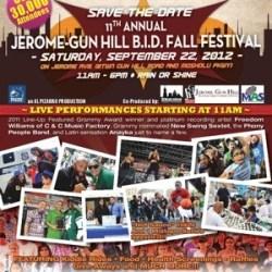 Jerome-Gun Hill BID Fall Festival