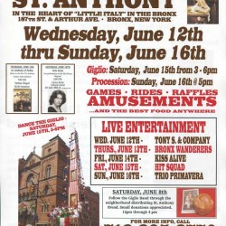 The Feast of St. Anthony