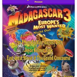 Movie Night: Madagascar 3
