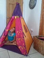 Briana's Reviews: B. Teepee from B. Toys