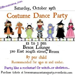 Bronxmama Halloween party!