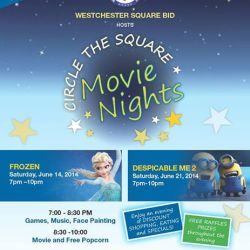 Family Movie Night in Westchester Square