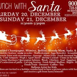 Brunch  with Santa at 900 Park