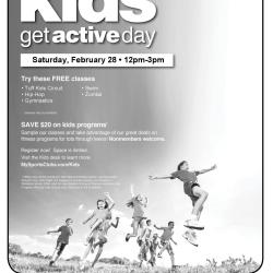 Kids Get Active Day at New York Sports Club