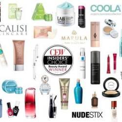 CEW Insiders' Choice Beauty Awards Winners + Beauty Guide