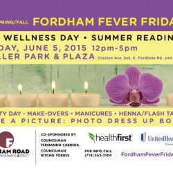 Fordham Fever Fridays 2015: Spa & Wellness Day
