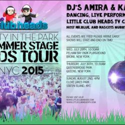 Party in the Park: Summerstage Kids Tour 2015