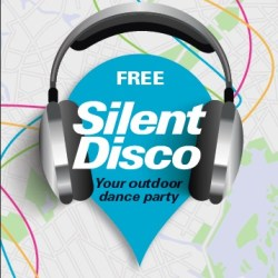 Silent Disco at Woodlawn Cemetery