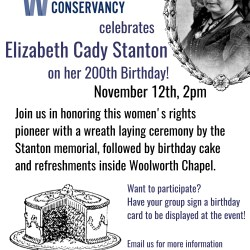 Celebrate Elizabeth Cady Stanton's 200th Birthday!