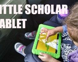 Tablet Talk: The School Zone Little Scholar Tablet
