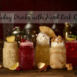 Feeling Festive at Hard Rock Cafe| Holiday Drinks
