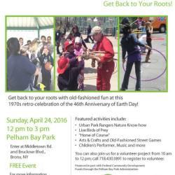 Earthfest at Pelham Bay Park