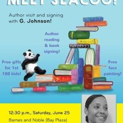 Author Visit & Signing: Seacoo