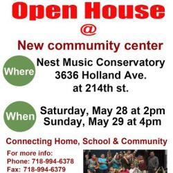Music Community Center Open House