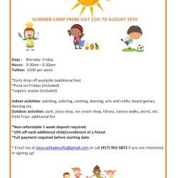 Summer Spanish Program: Summer Camp