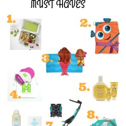Summer Must Haves: Baby and Toddler