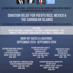 Donation Relief for Puerto Rico, Mexico & the Caribbean Islands