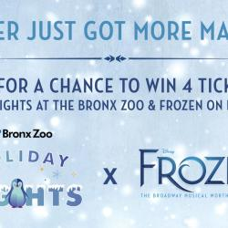 Holiday Lights x Frozen Broadway Giveaway