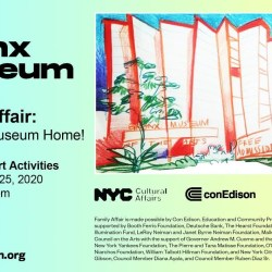 Online Family Affair with the Bronx Museum