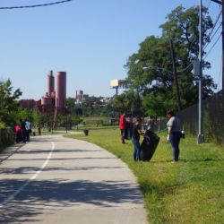 Volunteer for Weekly Clean Ups in Starlight & Concrete Plant Park