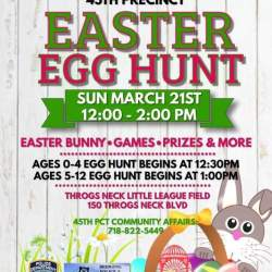 45th Precinct Easter Egg Hunt