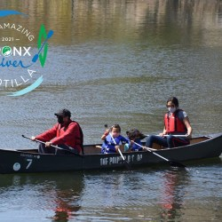 Last Chance to Canoe Down the Bronx River for this Year's Amazing Bronx River Flotilla