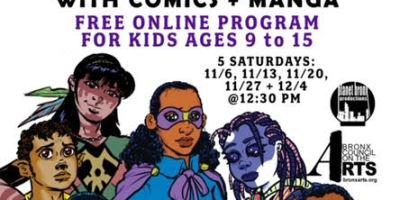 Free Virtual Comic & Manga Program for Kids in the Bronx