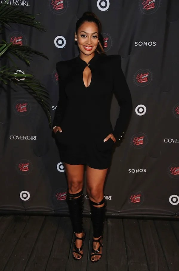2-Charli-Baltimore-vs.-LaLa-Anthony-in-Balmains-Wool-Jersey-Mini-Dress (2)