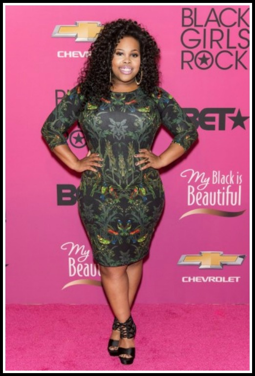 Amber-Riley-Black-Girls-Rock-2013-Photos