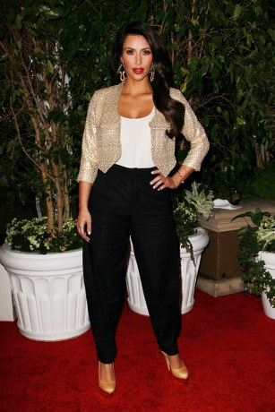Kim-Kardashian-in-K-DASH-by-Kardashian-Cropped-Sequin-Bolero