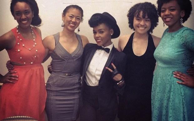 JanelleMonae honored at Harvard University