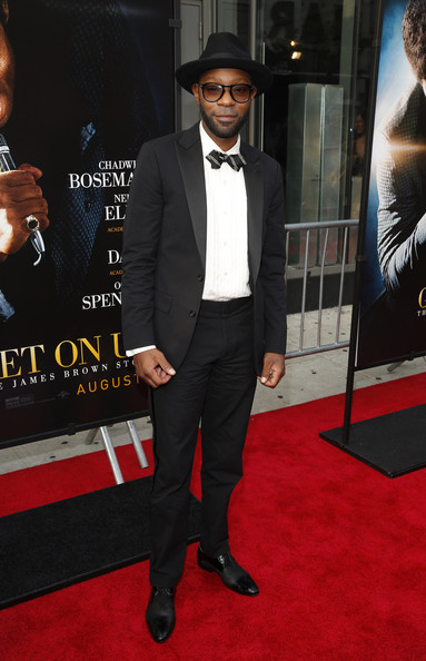 Nelsan Ellis at the GetUpNewYorkPremiere