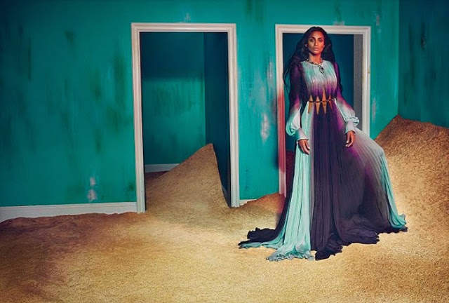 Ciara for Roberto Cavali Fall-Winter 2015c