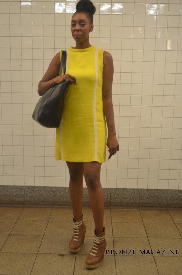Bronze Girl NYC Street Style4