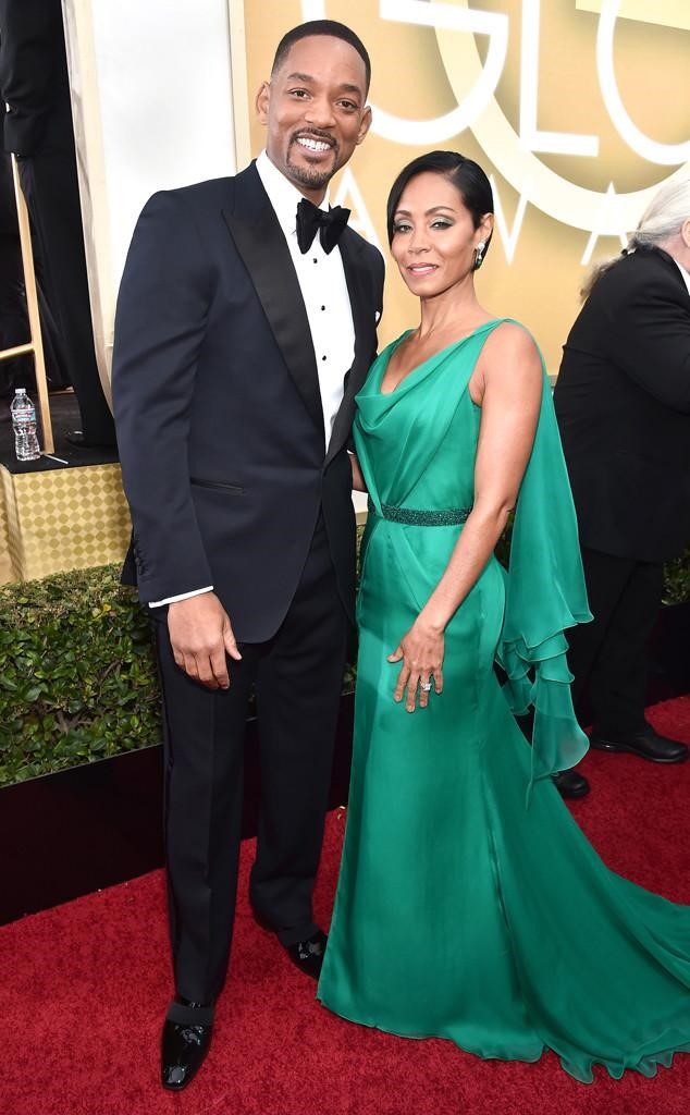 Jada and Will- Golden Globes 2016